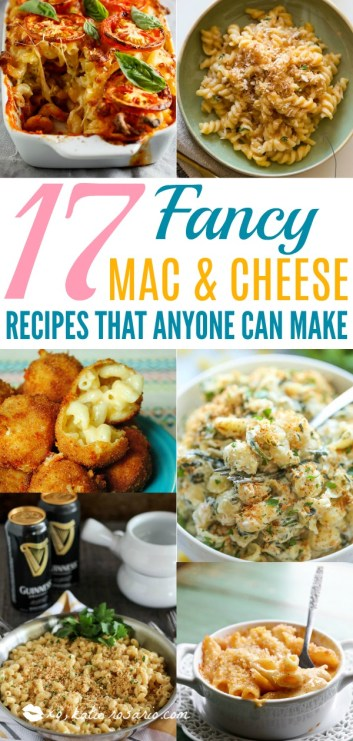 Easy Fancy Mac and Cheese Recipes