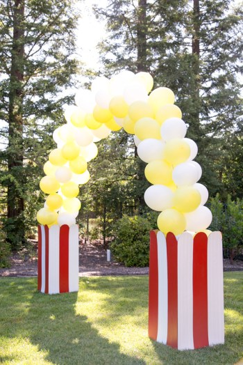 DIY Popcorn Balloon Arch | How to Make Balloon Arch