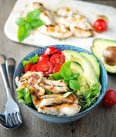 Shawarma Chicken Bowls | Low Carb Lunch Recipes