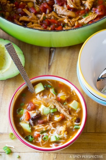 Skinny Chicken Faijta Soup | Low Carb Lunch Recipes
