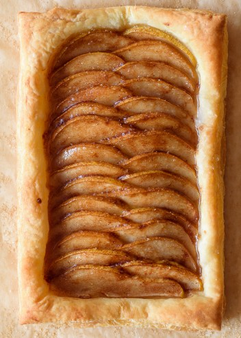 Ginger Pear Tart | Easy Puff Pastry Recipes