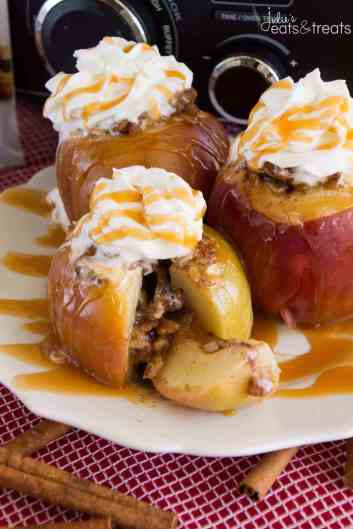 Slow Cooker Baked Apples | Slow Cooker Desserts Recipes