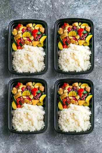 Kung Pao Chicken   Meal Prep Lunch Recipes