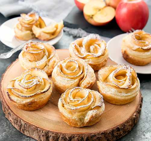 Apple Roses | Easy Puff Pastry Recipes