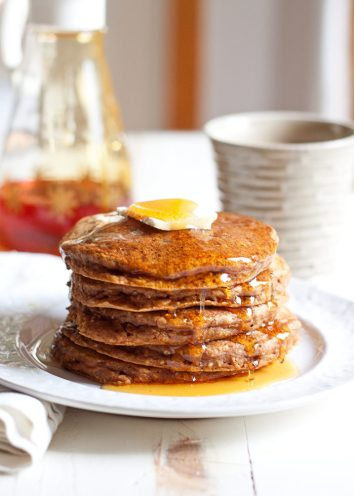 Pumpkin Chia Pancakes | Pumpkin Spice Pancakes