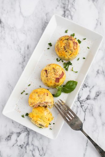 Bacon Cheddar Egg Bites   Keto Small Bites & Snack Recipes
