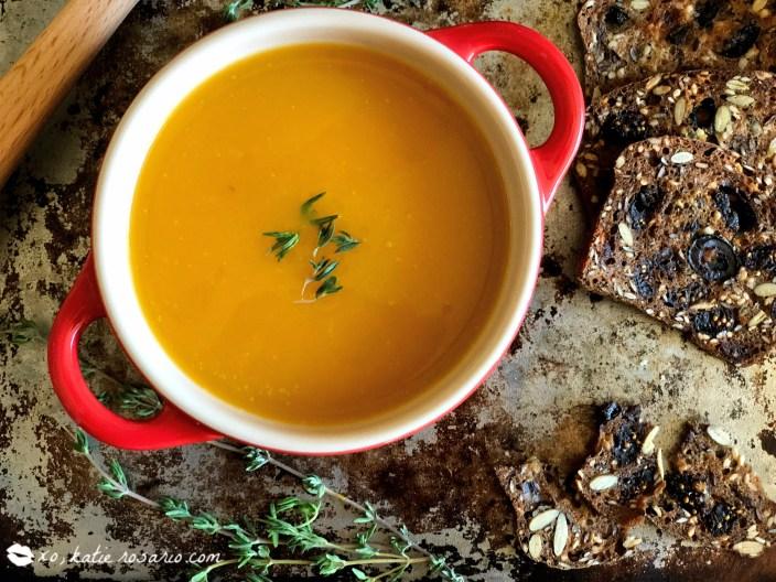Homemade Butternut Squash Soup by @xokatierosario