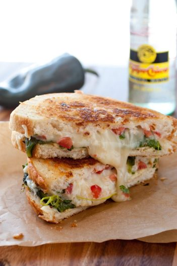 Chili Relleno Grilled Cheese | Gourmet Grilled Cheese Recipes