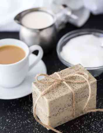 Vanilla Coffee Soap | Homemade Soap Recipes @ xokatierosario.com