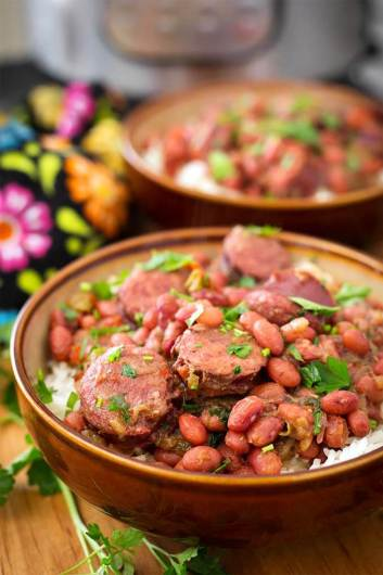 Instant Pot Sausage and Red Beans with Rice | 11 Instant Pot Comfort Food Recipes #instantpotrecipes #instantpotcomfortfood #fastcomfortfood