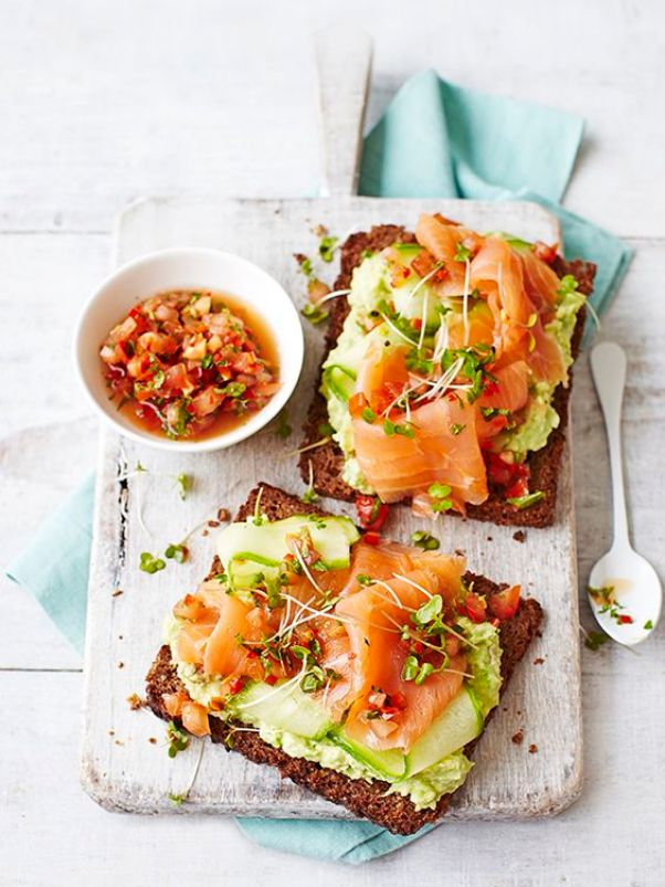 Avocado Toast with Smoked Salmon | 13 Fancy Avocado Toasts That Are Totally Craveable