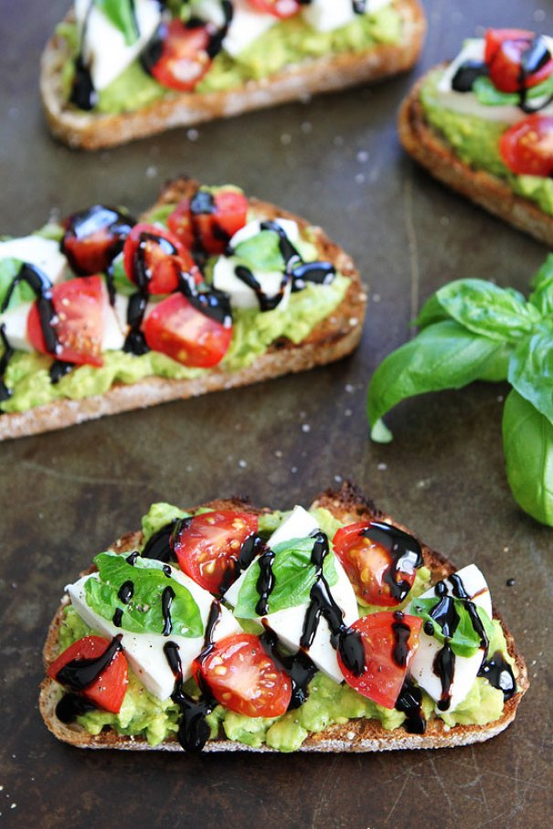Caprese Avocado Toast | 13 Fancy Avocado Toasts That Are Totally Craveable