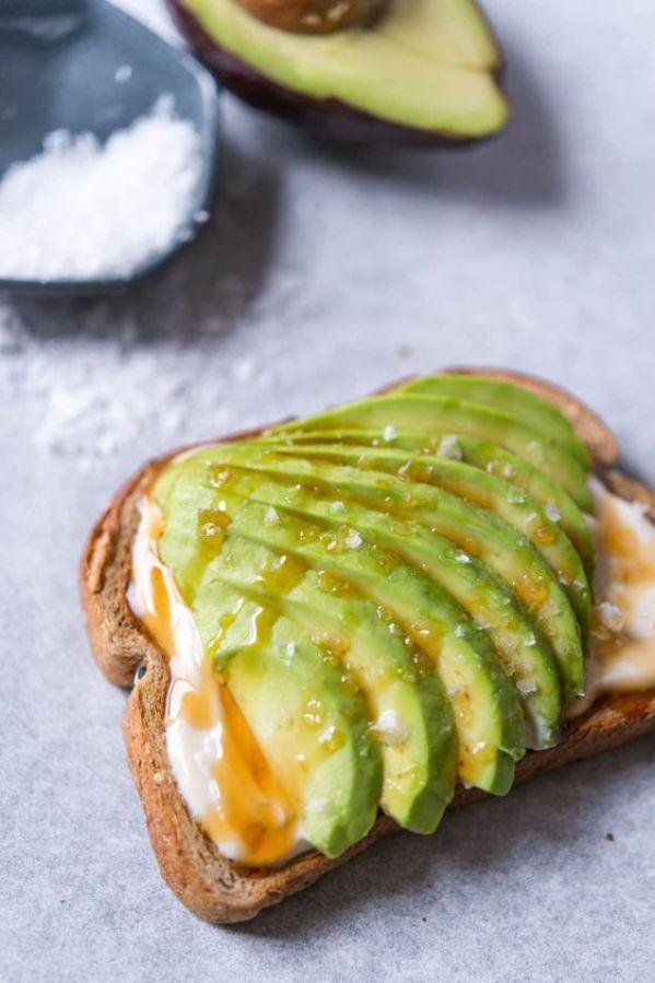 Honey Yogurt Avocado Toast   13 Fancy Avocado Toasts That Are Totally Craveable