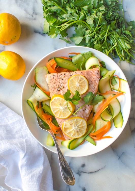 Instant Pot Lemon Garlic Salmon | 11 Brilliant Instant Pot Keto Recipes For Busy Weeknights