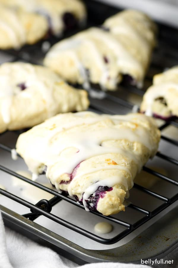 Blueberry Lemon Scones | Scones are little nuggets of golden brown goodness known for accompanying your afternoon tea. You can choose different flavor combinations like Dark Chocolate Cherry, Gruyere & Procuitto, and Maple Bacon. Here are some basic tips before baking scones to guarantee you get perfect scones every time. How to Make Sweet & Savory Scones Perfect Every Time! #xokatierosario #easysconerecipes #homemadescones #sweetscones