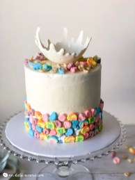 Lucky Charms Cereal Cake