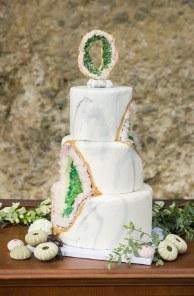 Beach Geode Cake