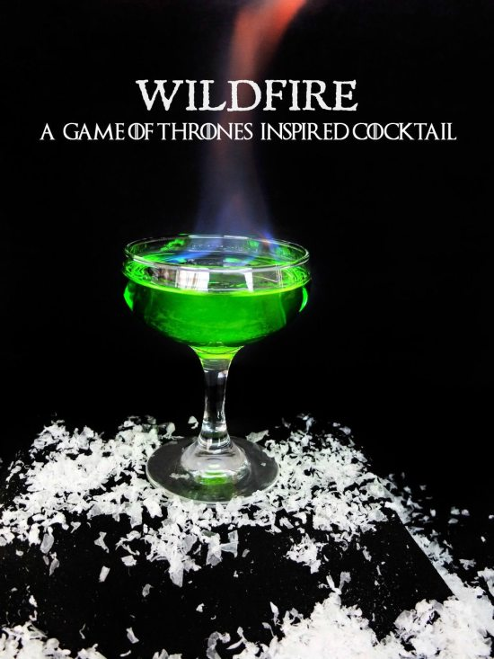 Wildfire Cocktails | Are you obsessed with Game of Thrones? If so you must try this Game of Thrones Inspired Cocktails! These Game of Thrones Cocktails are inspired by events and characters we have grown to love. These cocktails are the perfect treat for your Final Season premiere watch party. #xokatierosario #easycocktailrecipes #gameofthroneswatchparty #gameofthronerecipes