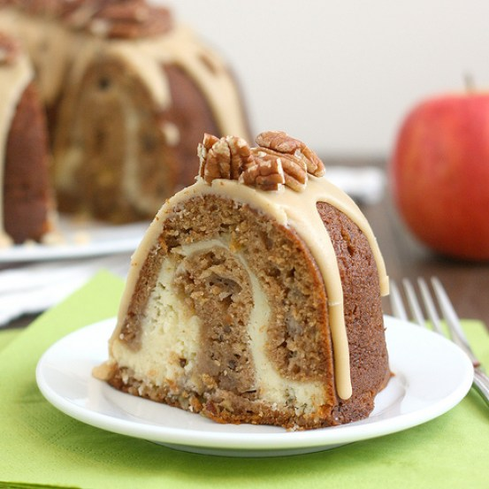 Apple Cream Cheese Bundt Cake | Bundt cakes are simple cakes that are perfect for any beginner baker. They come out beautiful every time. The bundt cake pan was originally designed for a thick, dense cake batter like a pound cake. These bundt cakes are foolproof recipes that are super impressive and taste delicious! So let's get started, here are 18 Bundt Cake Recipes That Anyone Can Make! #xokatierosario #easybundtcakerecipes #bundtcakesrecipes #bundtcakesdecorations