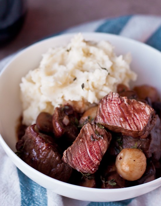 Beef Bourguignon | Learn how to make these traditional French recipes for yourself without taking hours or complicated techniques. These quintessentially French dishes are simple for every home cook to feel like a top chef. Here are 12 Classic French Dishes That'll Take One Hour or Less To Make! #xokatierosario #quickfrenchrecipes #frenchdishes #easyfrenchcooking