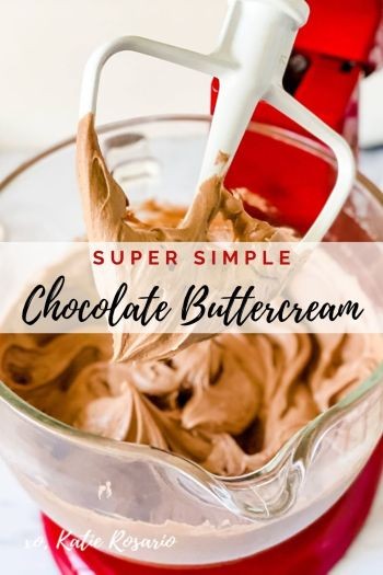 I'll show you how to make this elevated version of chocolate buttercream. It's super simple to make this rich and creamy chocolate buttercream. Created by Katie Rosario, XOKatieRosario creates beautiful cake decorating techniques that are easy for beginners and strategically designed for any home baker. #xokatierosario.com #cakedecoratingcourse #xokatierosario #katierosariocakes #cakedecoratingtips #chocolatebuttercream #chocolatefrosting