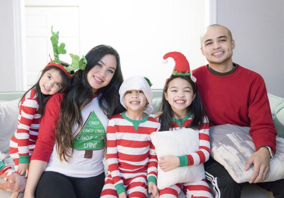 christmas family picture target pajamas