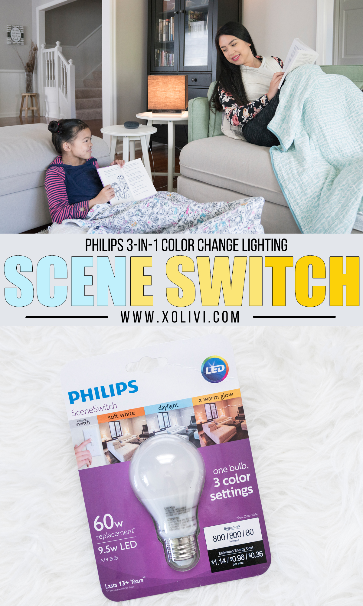 Philips sceneswitch 3 in 1 light bulb