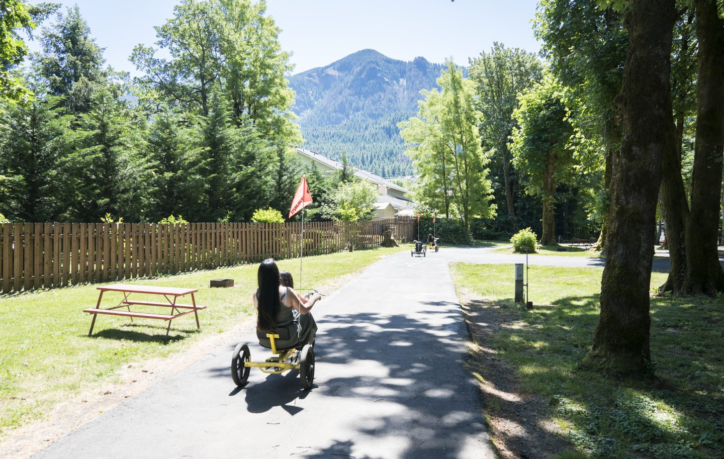 Cascade Locks Oregon KOA Holiday