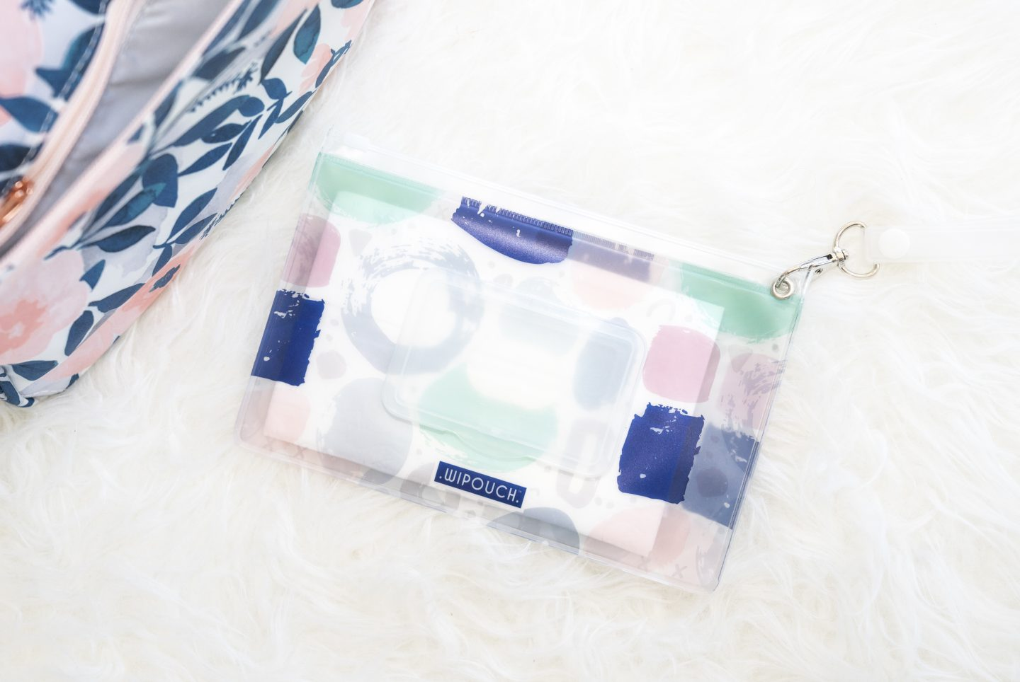Jujube Be Sassy Whimsical Watercolor wipouch