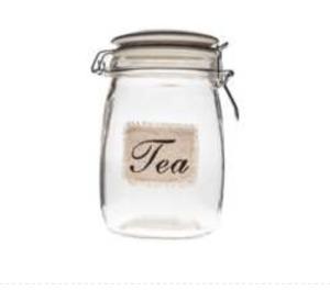 Glass Tea Jar