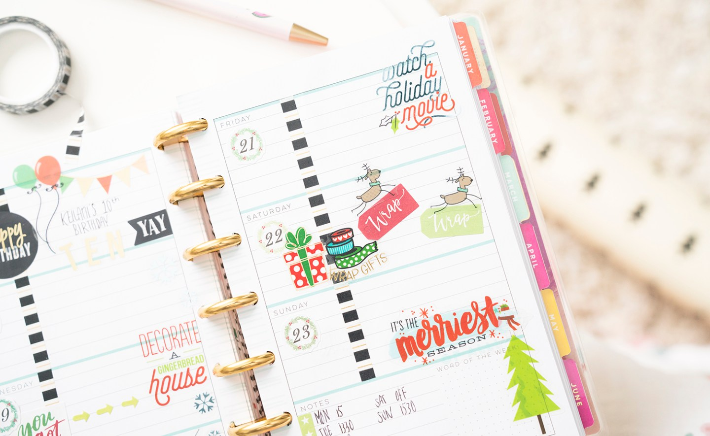 The Happy Planner Mini Christmas