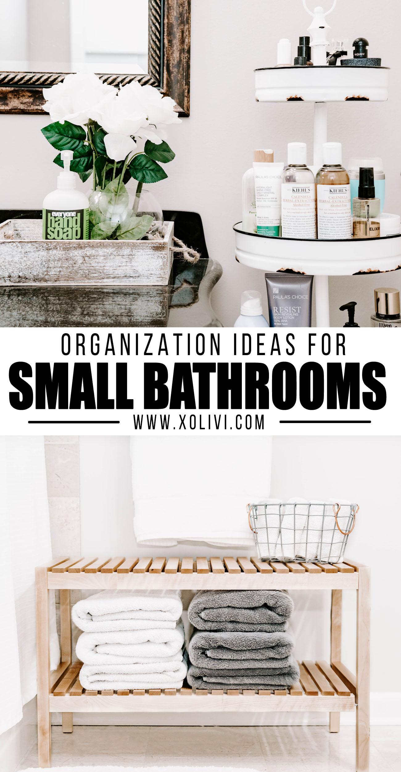 bathroom organization ideas for small bathrooms