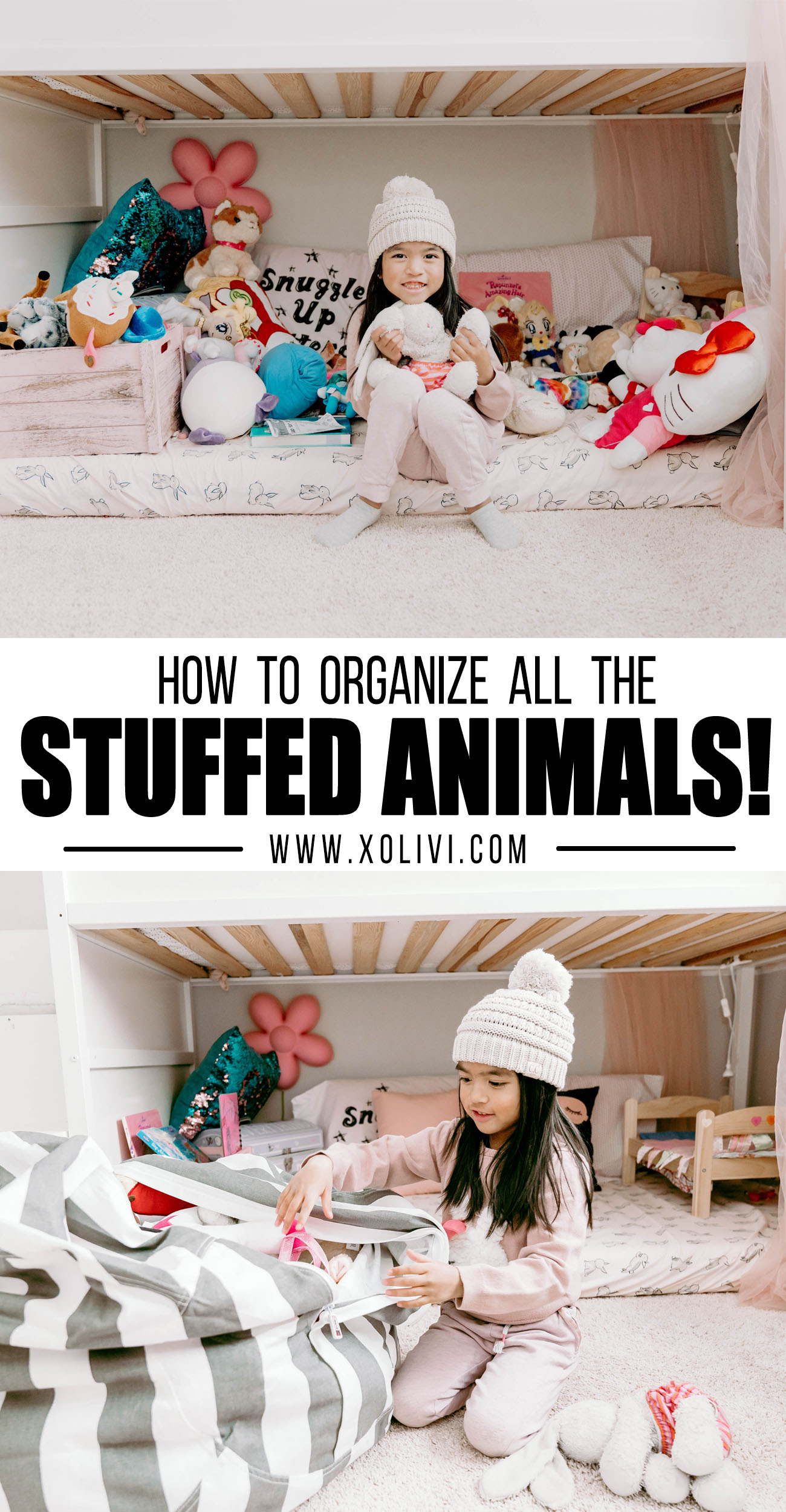 stuffed animals organizer