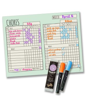 Chore Chart – Double