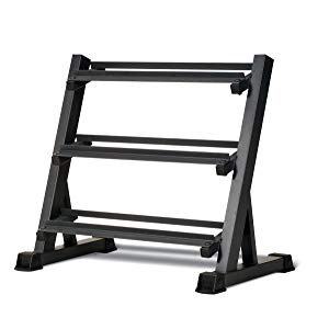 Marcy Pro Dumbbell Storage Rack (Black w/o shelf)