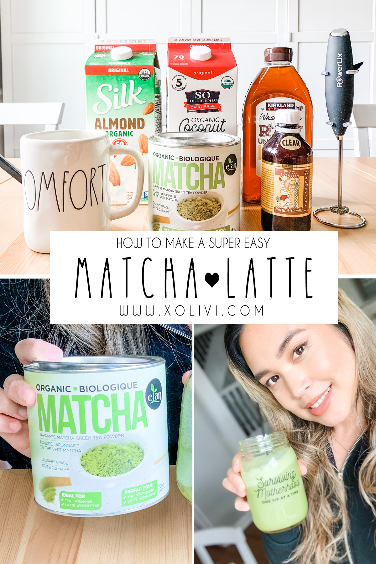 how to make matcha latte