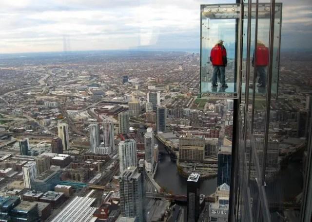 Mirador de la torre Sears de Chicago