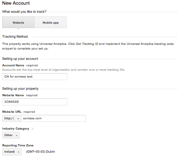 how to sign up and create an account on GOOGLE ANALYTICS