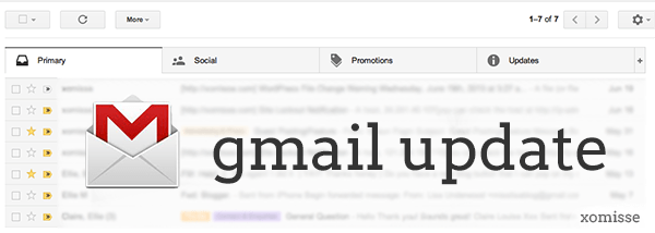gmail update tabs june 2013
