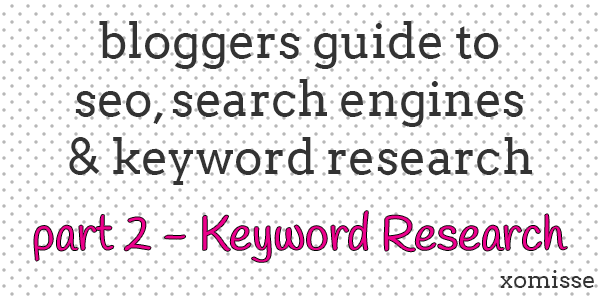 steps to keyword research