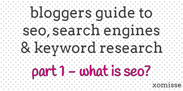 bloggers guide to seo