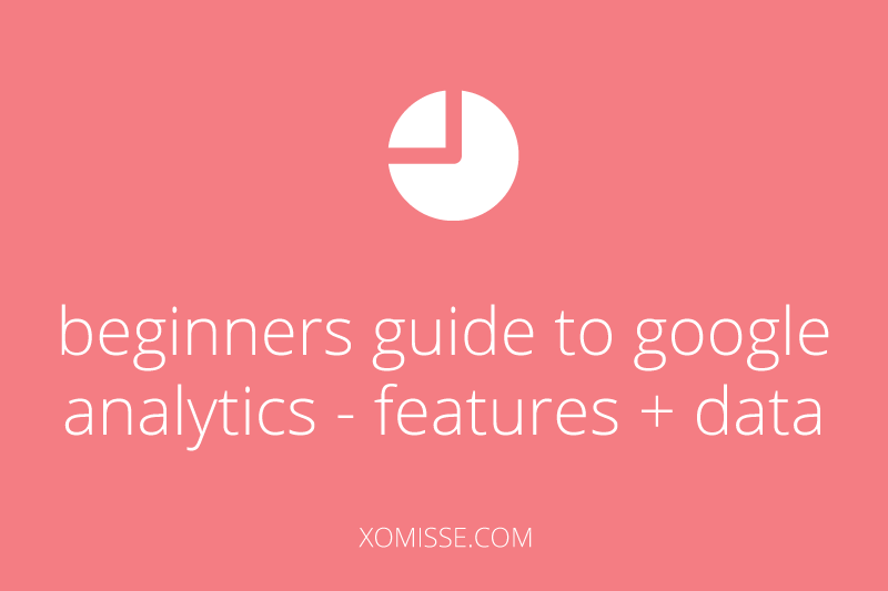 BEGINNERS-GUIDE-TO-GOOGLE-ANALYTICS-FOR-BLOGGERS-features and data
