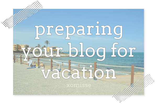 get your blog holiday ready