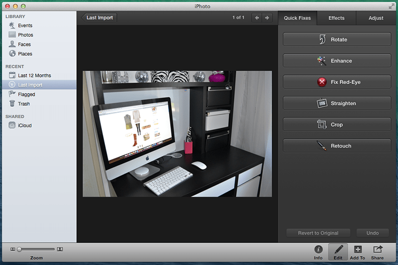 iPhoto - alternative to photoshop review