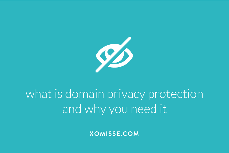 what is domain whois privacy protection and why you need it