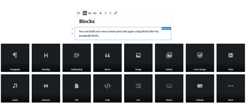 Gutenberg Blocks in WordPress