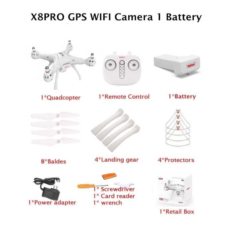 Hinh anh đầy đủ chi tiết cuả Flycam Syma x8 pro