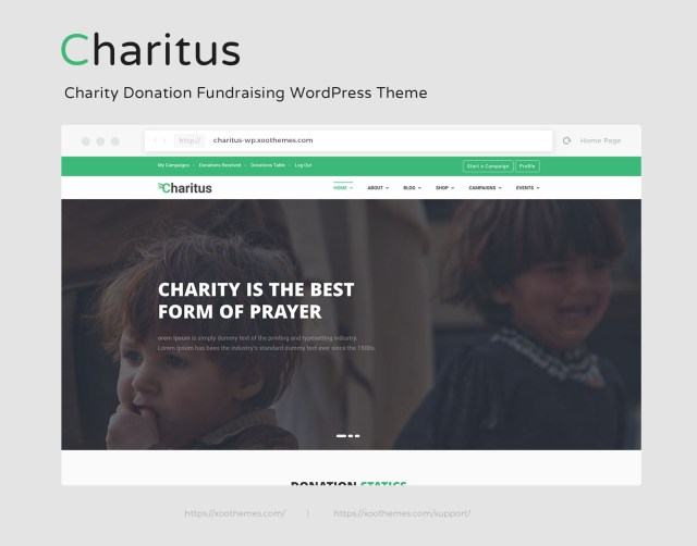 free wordpress charity themes