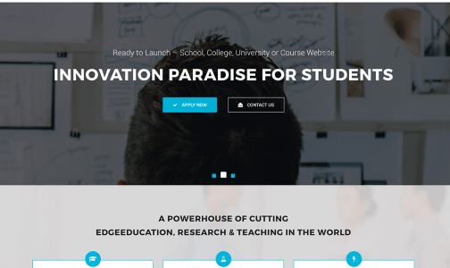 Top 20 Best Education WordPress Theme