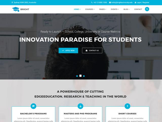 20 Best Education WordPress Theme